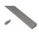 10010 - / JH-003A-2M/  Алуминиев профил за вграждане, мат - 2 м /NEW/
