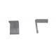 10103 - Комплект скоби за ъглов профил- объл / ъглов мат- 2 бр
