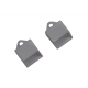 10107 - Комплект тапи за профил- /10012,10013/ - 2 БР- NEW