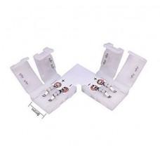 Конектор L за 3528 едноцветна LED лента