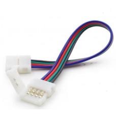 Конектор ГЪВКАВ за RGB LED лента